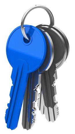 Schlüsselring mit vier Schlüsseln